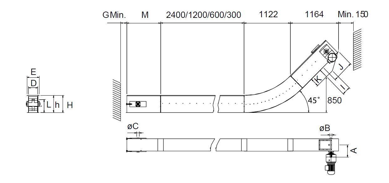 Crocus Flight Conveyor Technical data